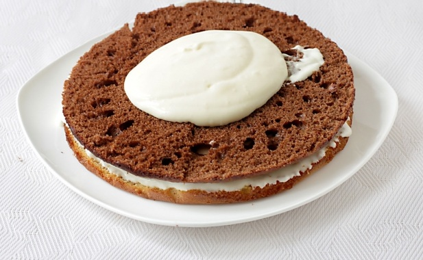 Торт сметанный классический рецепт - фото шаг 9
