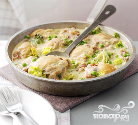 Рецепт Курица по-французски