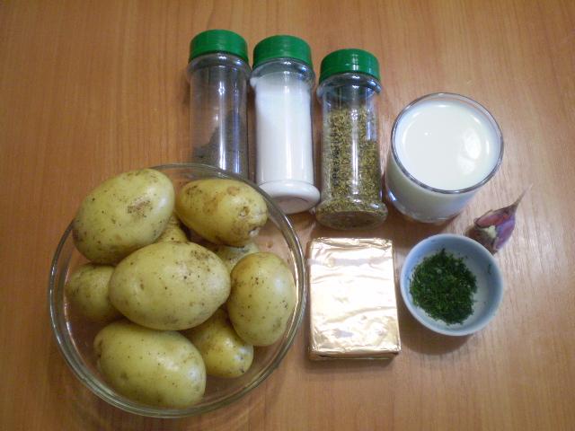 Рецепт Картошка под соусом