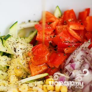 Летние жареные овощи - фото шаг 4