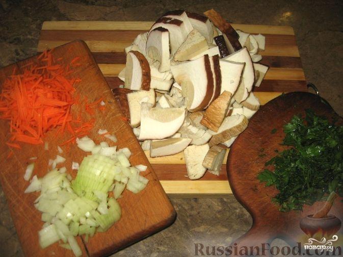 Суп с картофельными галушками - фото шаг 1