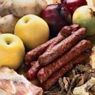 Рецепт Колбаски охотничьи с грибами