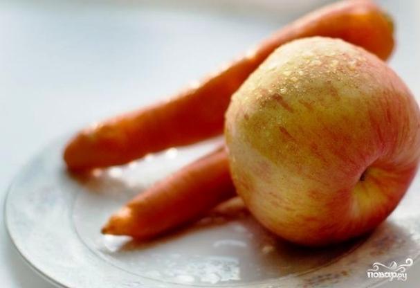 Морковная диета для мальчиков