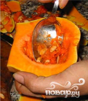 Летний суп из тыквы и апельсинов - фото шаг 1