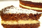 Шоколадно-кокосовый торт