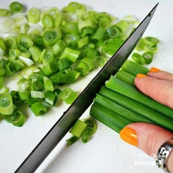 Салат из помидоров и фасоли - фото шаг 3