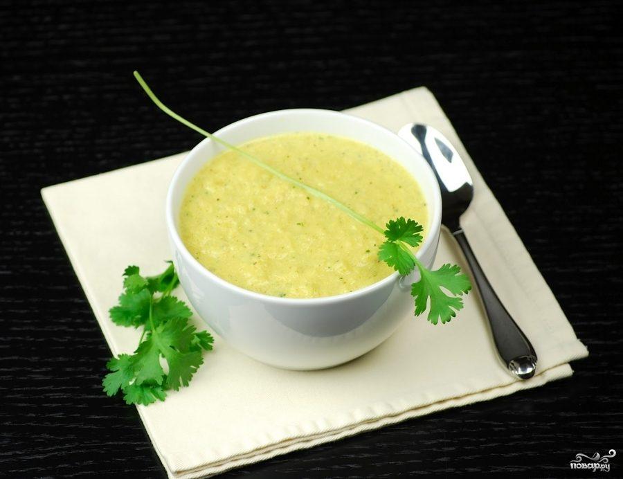как приготовить суп-пюре из цветной капусты и брокколи