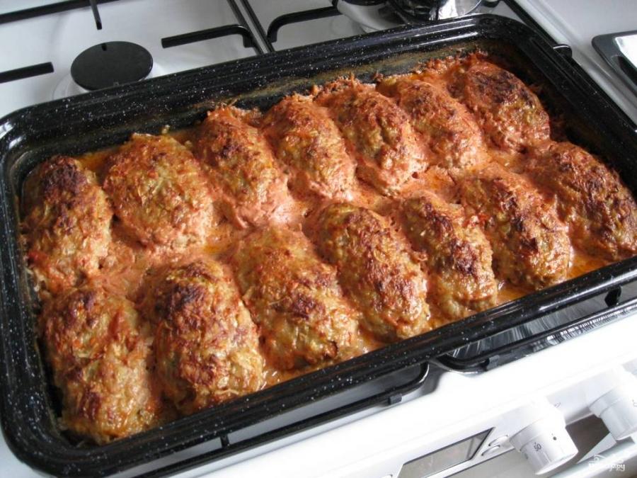 Ленивые голубцы в духовке рецепт с фото пошагово