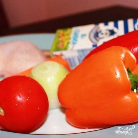 Рецепт Курица в перечном соусе