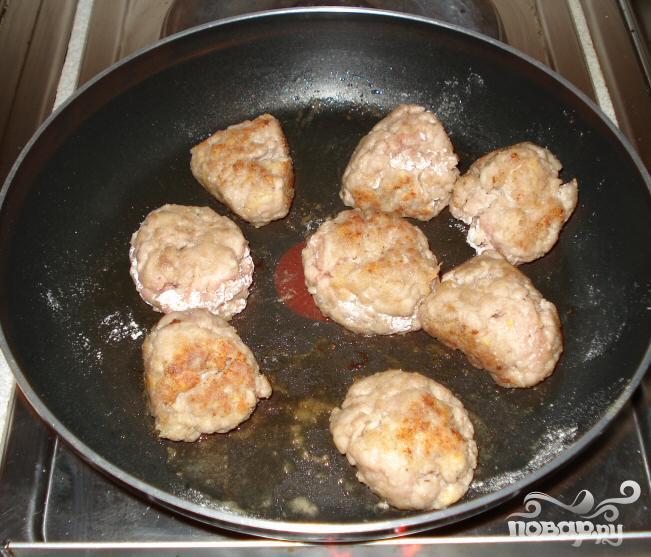 Мясные шарики в кисло-сладком соусе - фото шаг 3