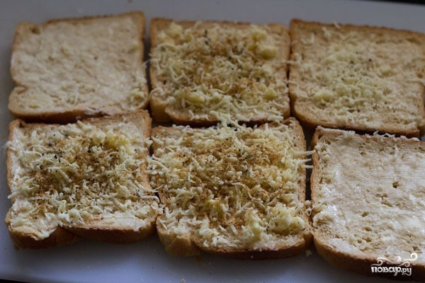 Горячие сэндвичи - фото шаг 2