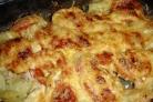 Картошка по-французски с помидорами