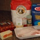 Рецепт Свиная грудинка с макаронами