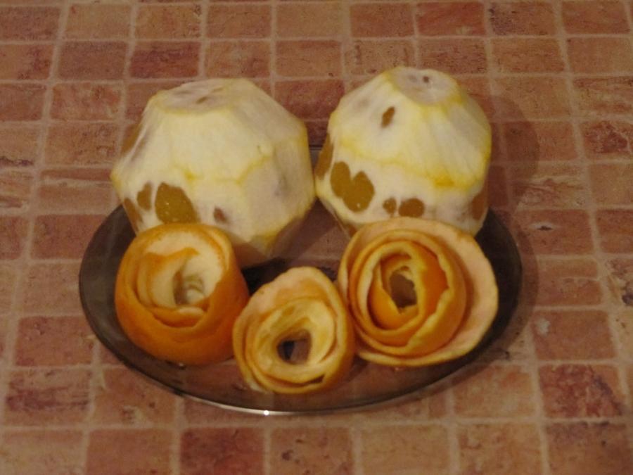 Шарлотка с апельсинами - фото шаг 2