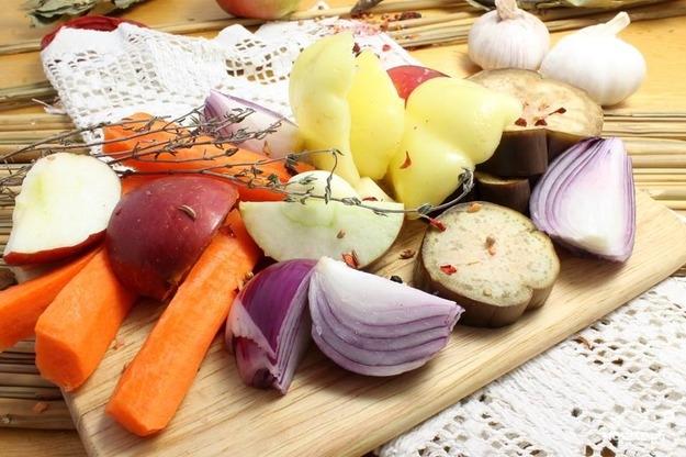 Свинина со свежими овощами - фото шаг 4
