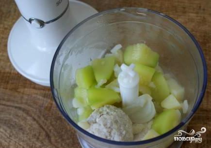 Крем-суп из индейки - фото шаг 5