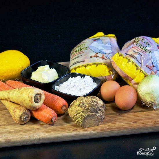 Куриный суп-пюре - фото шаг 1