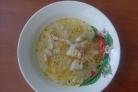 Диетический суп из куриных грудок