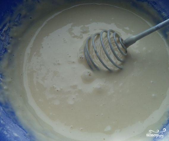 Тесто для тонких блинчиков
