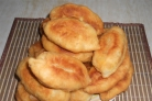Капустные пирожки жареные