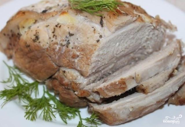 свинина в духовке рецепты с фото большим куском в