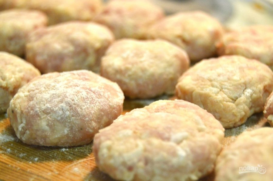 Домашние котлетки рецепт пошагово с