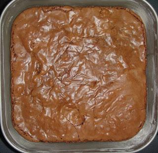 Брауни с черным шоколадом - фото шаг 9