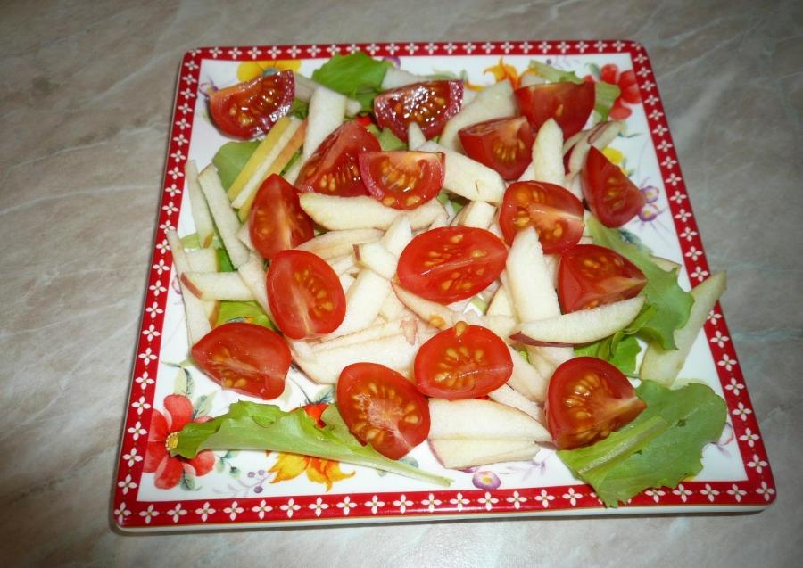 Салат с копченым мясом - фото шаг 5