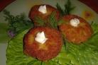 Котлеты из тыквы с картофелем