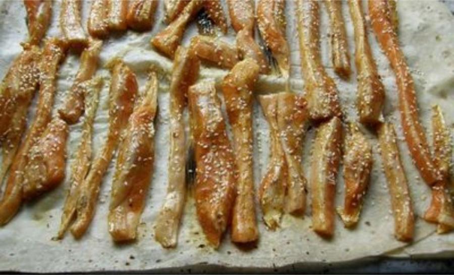 Брюшки семги в духовке - фото шаг 2