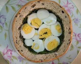 "Сэндвич с салатом ""Ницца"" - фото шаг 7"