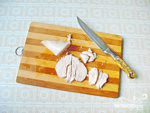 Горячие бутерброды с курицей - фото шаг 2