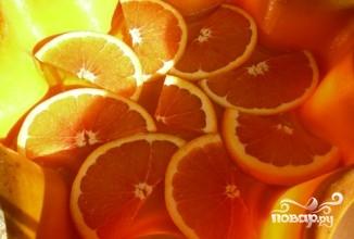 Кофейный пирог с апельсинами - фото шаг 5