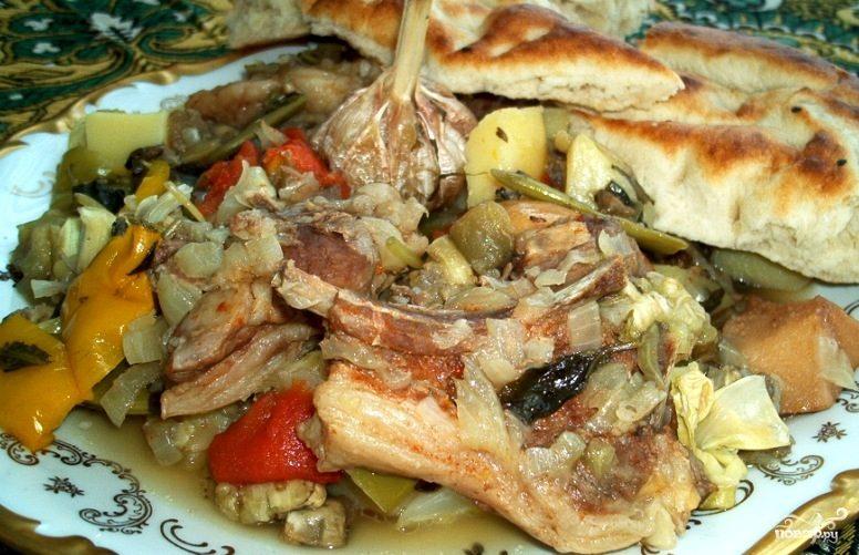 Рецепт Хашлама из баранины на костре
