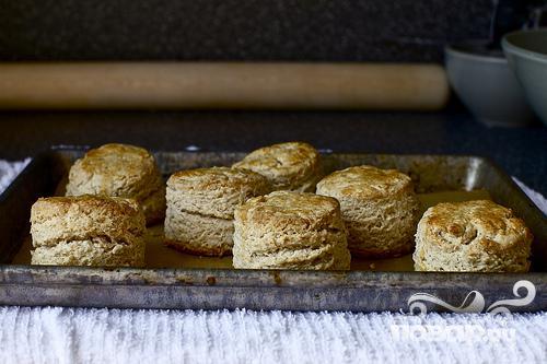 Овсяные булочки с кленовым сиропом - фото шаг 3