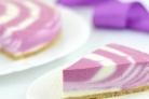 Двухцветный творожный торт (без выпечки)