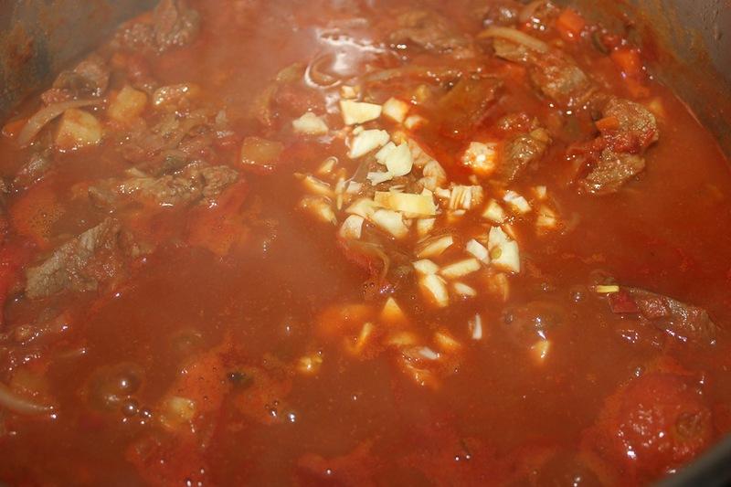 Суп-гуляш из говядины - фото шаг 15