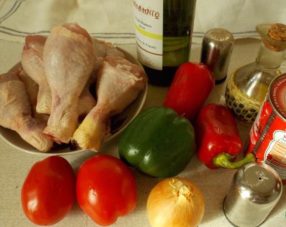 Рецепт Тушеные куриные ножки
