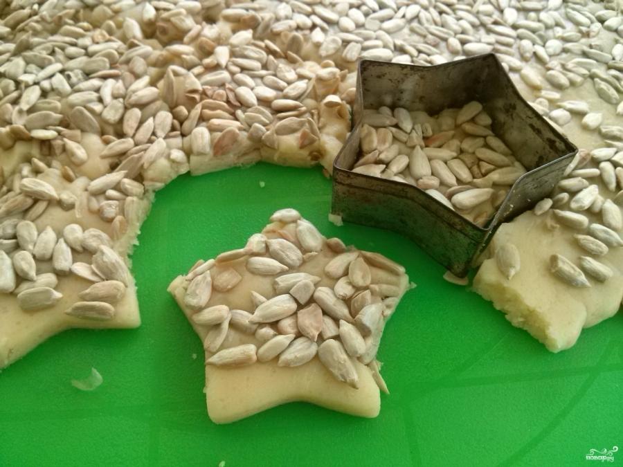 Печенье с семечками - фото шаг 6