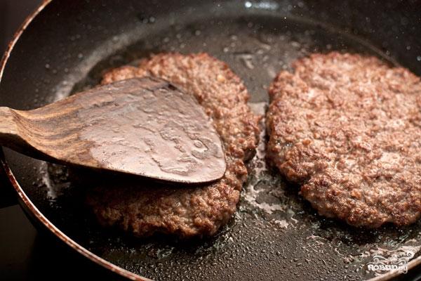 Котлета для гамбургера в домашних условиях рецепты