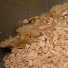 Рецепт Овсяный десерт с шоколадом и орехами