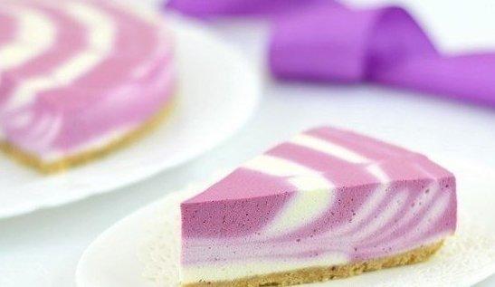 Двухцветный творожный торт (без выпечки) - фото шаг 5