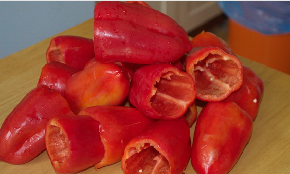 Рецепт Перец с морковкой на зиму