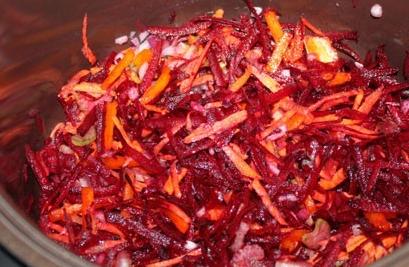 Борщ с черносливом вегетарианский - фото шаг 2