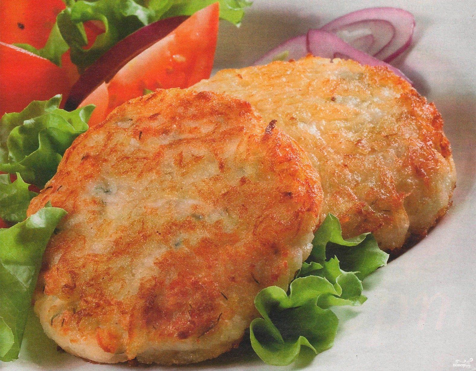 Рецепт Куриные котлеты в панировке