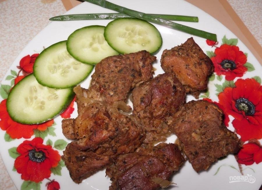 курица шашлык в духовке в рукаве рецепт с фото #11