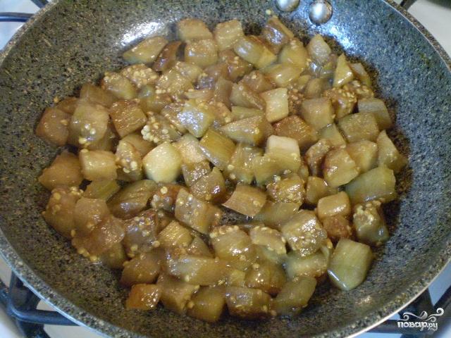 Салат из баклажанов с сыром - фото шаг 2