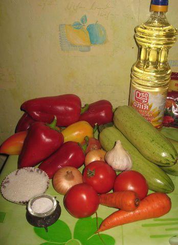 Рецепт Аджика из кабачков на зиму