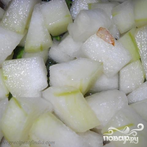 Блюдо из сладкой тыквы - фото шаг 3