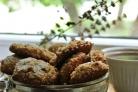 Постное овсяное печенье